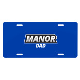 License Plate-Manor Dad