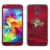 Galaxy S5 Skin-Lion with M