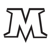 Medium Decal-M, 8 inches wide
