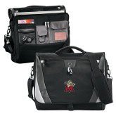 Slope Black/Grey Compu Messenger Bag-Lion with M