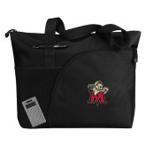 Excel Black Sport Utility Tote-Lion with M