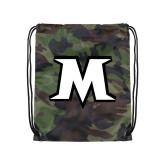 Camo Drawstring Backpack-M
