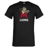 Black T Shirt-Lions