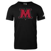 Adidas Black Logo T Shirt-M