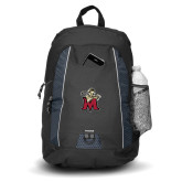 Impulse Black Backpack-Lion with M