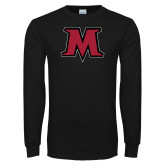 Black Long Sleeve T Shirt-M