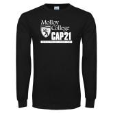 Black Long Sleeve T Shirt-CAP 21