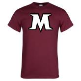 Maroon T Shirt-M