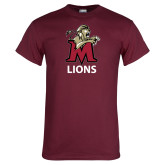Maroon T Shirt-Lions