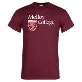 Maroon T Shirt-Institutional Logo