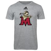 Adidas Sport Grey Logo T Shirt-Lion with M