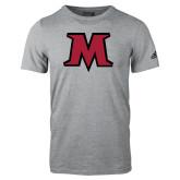 Adidas Sport Grey Logo T Shirt-M