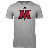 Adidas Climalite Sport Grey Ultimate Performance Tee-M