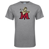 Grey T Shirt-Lion with M