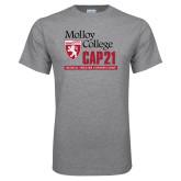 Grey T Shirt-CAP 21