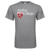 Grey T Shirt-Institutional Logo