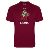 Under Armour Maroon Tech Tee-Lions