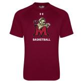 Under Armour Maroon Tech Tee-Basketball