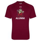 Under Armour Maroon Tech Tee-Alumni
