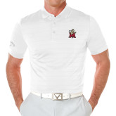 Callaway Opti Vent White Polo-Lion with M