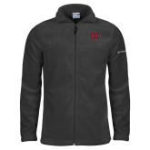 Columbia Full Zip Charcoal Fleece Jacket-M