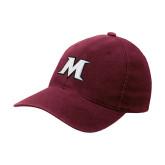 Maroon Flexfit Mid Profile Hat-M