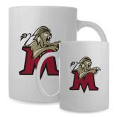 Full Color White Mug 15oz-Lion with M