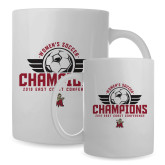 Full Color White Mug 15oz-2019 Womens Soccer Champs