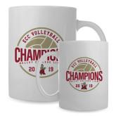 Full Color White Mug 15oz-2019 Volleyball Champs