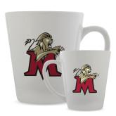 Full Color Latte Mug 12oz-Lion with M