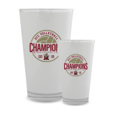 Full Color Glass 17oz-2019 Volleyball Champs