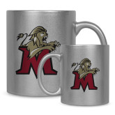 Full Color Silver Metallic Mug 11oz-Lion with M
