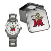 Mens Stainless Steel Fashion Watch-Lion with M