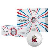 Callaway Supersoft Golf Balls 12/pkg-Lion with M