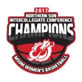 Medium Decal-2017 Northern Sun Intercollegiate Conference Womens Champions