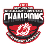 Large Decal-2017 Northern Sun Intercollegiate Conference Womens Champions
