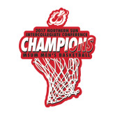 Large Decal-2017 Northern Sun Intercollegiate Conference Mens Champions