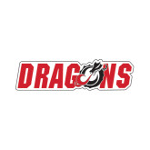 Small Decal-Dragons, 6 inches tall