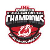 Small Decal-2017 Northern Sun Intercollegiate Conference Womens Champions