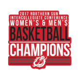 Small Decal-2017 Northern Sun Intercollegiate Conference Men and Women Champions