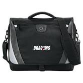 Slope Black/Grey Compu Messenger Bag-Dragons