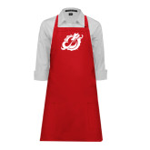 Full Length Red Apron-Dragon Mark