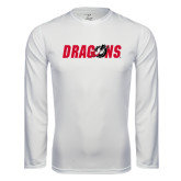 Syntrel Performance White Longsleeve Shirt-Dragons