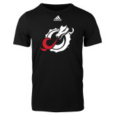 Adidas Black Logo T Shirt-Dragon Mark