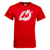 Red T Shirt-Dragon Mark