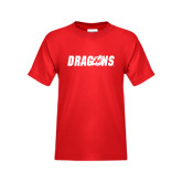 Youth Red T Shirt-Dragons