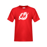 Youth Red T Shirt-Dragon Mark