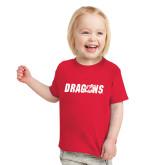 Toddler Red T Shirt-Dragons