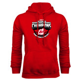 Red Fleece Hoodie-2017 Northern Sun Intercollegiate Conference Womens Champions