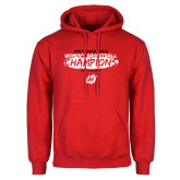 Red Fleece Hoodie-2018 Womens Basketball Champions